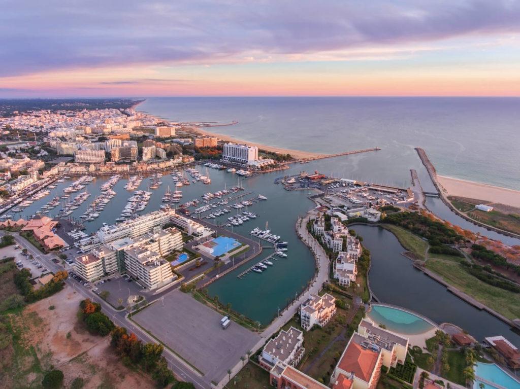 Vilamoura Marina.