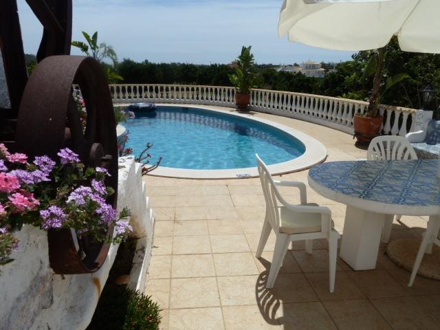 Villa Pateo. Beautiful pool terrace.